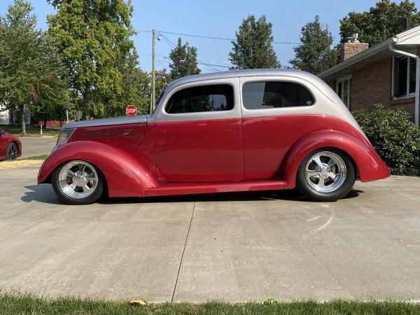 1937 Ford Slant Back Pro Built Custom Street Rod  for Sale $44,500