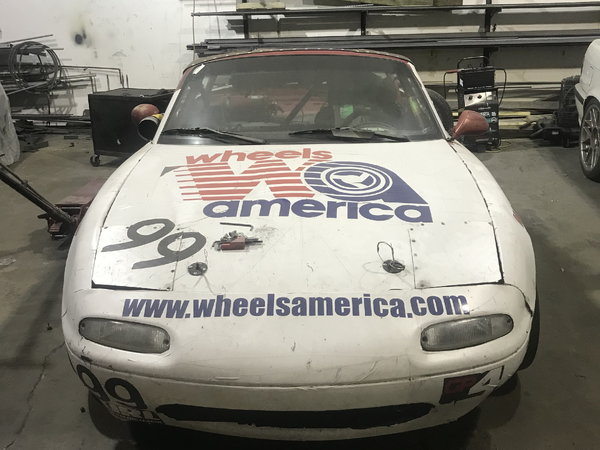 1994 Mazda Miata Champcar/WRL/Lemons Race Car  for Sale $5,000