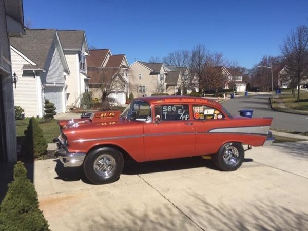 57 Belair vintage race car  for Sale $45,000