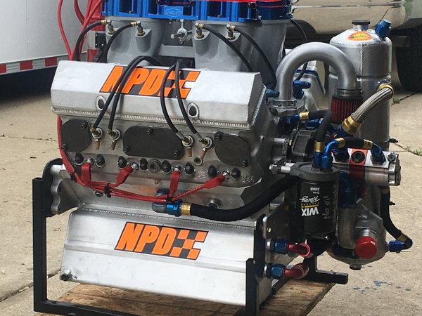 Steve Kinser Racing 410 All Pro 286-4 Motor  for Sale $25,000