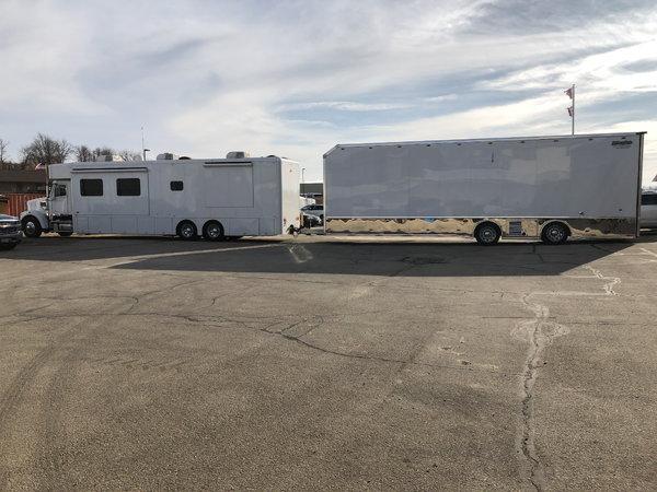 2017 NRC Hauler & 2015 38' Wildside Stacker Liftgate Tra  for Sale $425,000