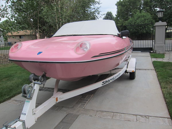 Boat that looks like a Porsche !  for Sale $24,500