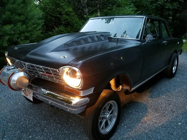 1962 nova gasser 500 horsepower