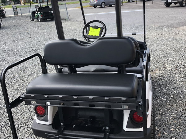 "2011 yamaha gas golf cart 12"" wheels led lights 4 seats"