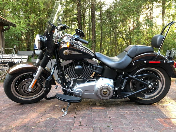 2013 Harley-Davidson Softail 2013 Harley Davidson Fat Boy Lo  for Sale $6,700