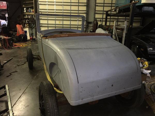 1928 Model A Hot Rod Project