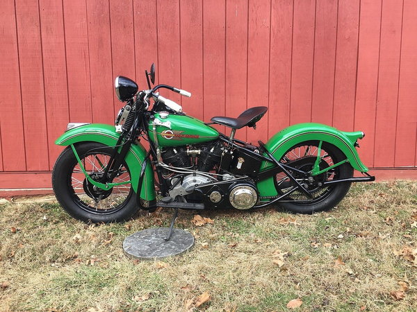 1938 Harley-Davidson Knucklehead  for Sale $49,000