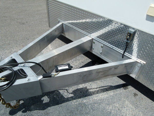 2021 28' All aluminum Haulmark Edge stacker