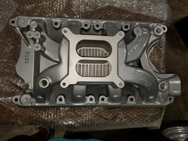 Edelbrock 7581 351W Intake Manifold - Brand New and freshly