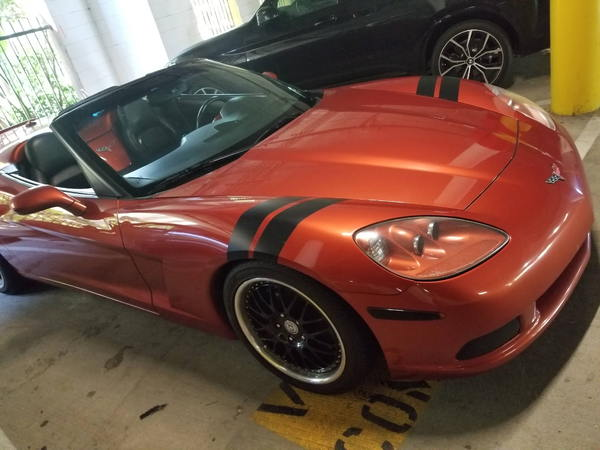 Excellent Cond C6 Convertable  for Sale $27,999