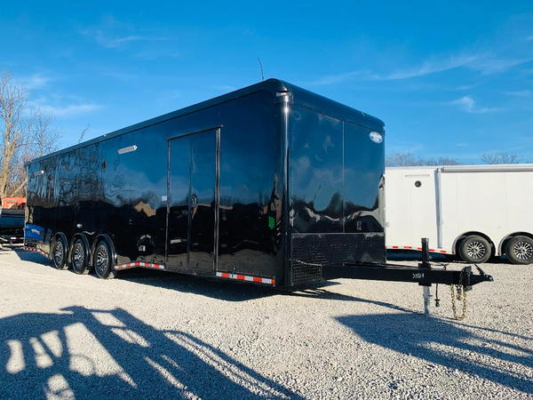 2019, 8.5'X32' CONTINENTAL CARGO TRIPLE AXLE ENCLOSED TRAILE  for Sale $25,995