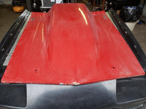 "1967-1969 Camaro 6""cowl hood  for Sale $200"