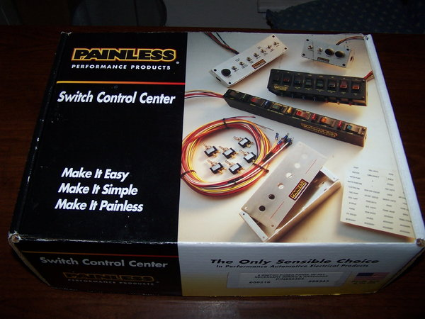 New Painless Wiring 50303 Rocker Switch panel   for Sale $269
