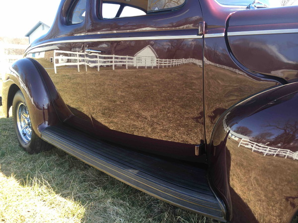 1940 Ford Deluxe Coupe Street Rod 427 Ford All Steel Estate   for Sale $59,500