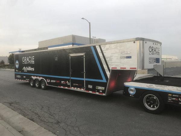 GMC Topkick 5500 & 44ft enclosed
