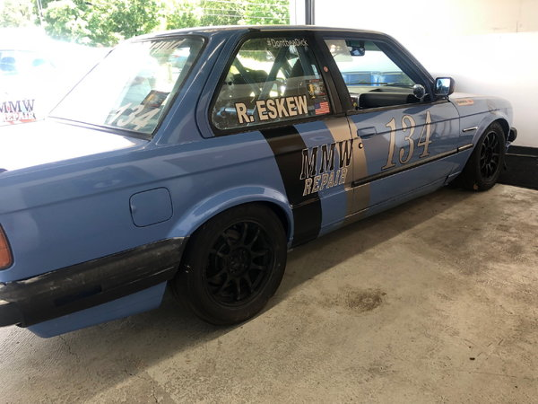 1989 BMW Spec E30 - Yas Marina Blue - Record holding car  for Sale $14,700