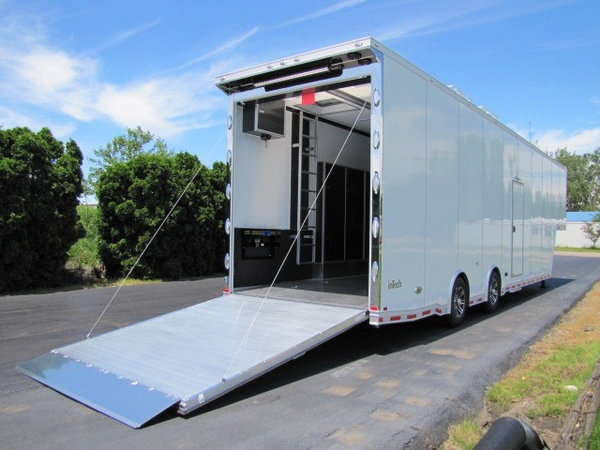 2020 Intech Trailers Icon 40' Sprintcar Trailer
