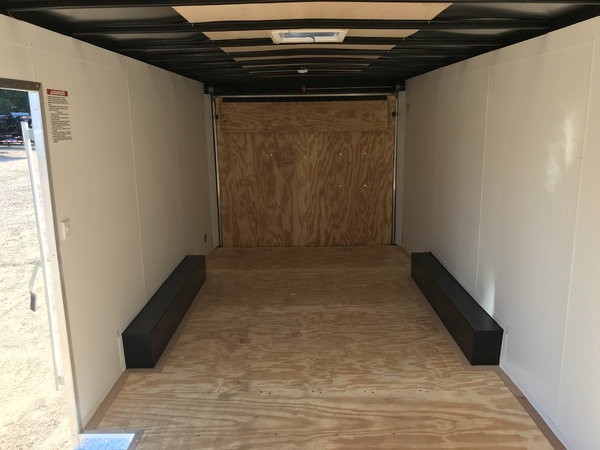 NEW 2019 UNITED TRAILERS 8.5 X 23 TANDEM AXLE ENCLOSED CAR H  for Sale $8,500