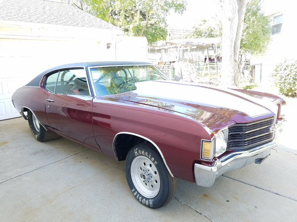 1972 chevelle drag car or pro street-roller(Have title]  for Sale $19,500