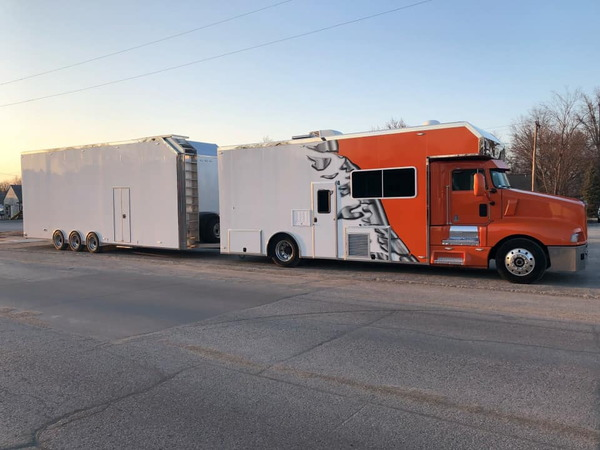S&S MOTORHOME/SPRINT CAR TAG TRAILER  for Sale $150,000