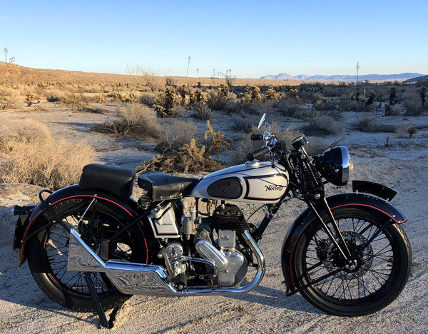 1939 NORTON MOTORCYCLE FLATHEAD  for Sale $10,500