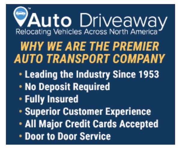 AUTO DRIVEWAY the ONLY WAY only SHIP YOUR VEHICLE