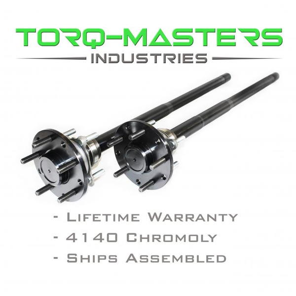 INFINITY SERIES CHROMOLY REAR AXLE SHAFT ASSEMBLED PAIR JEEP  for Sale $450