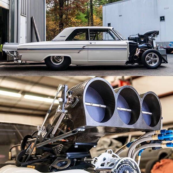 WTB 1964 Fairlane Chassis car  for Sale $25,000