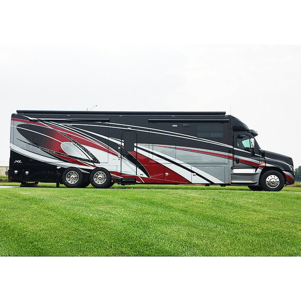2019 Renegade XL 45' Motor Coach Quad Slide X45QS Double Sin