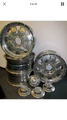 SET OF (4) FORGED WELD CHROME RIMS 20x8.5  6.5 BOLT PATTERN