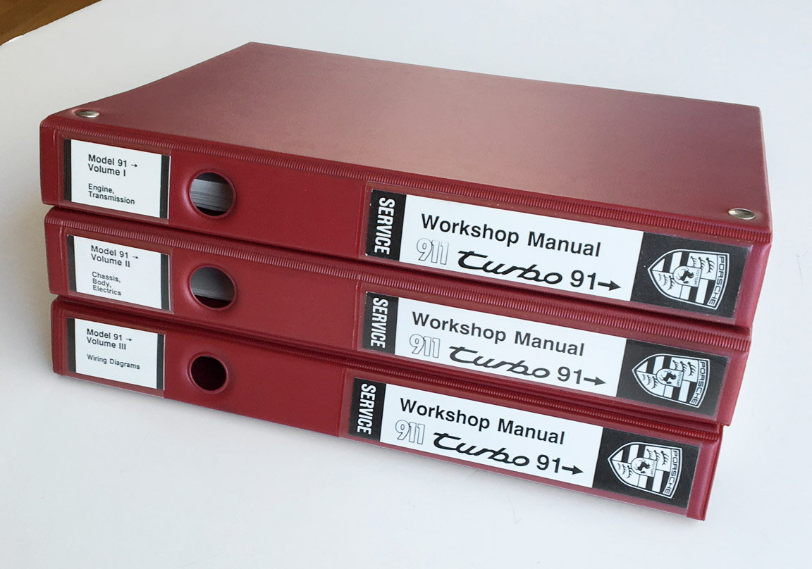1991 1993 911 Turbo Workshop Manuals Rennlist Porsche Discussion