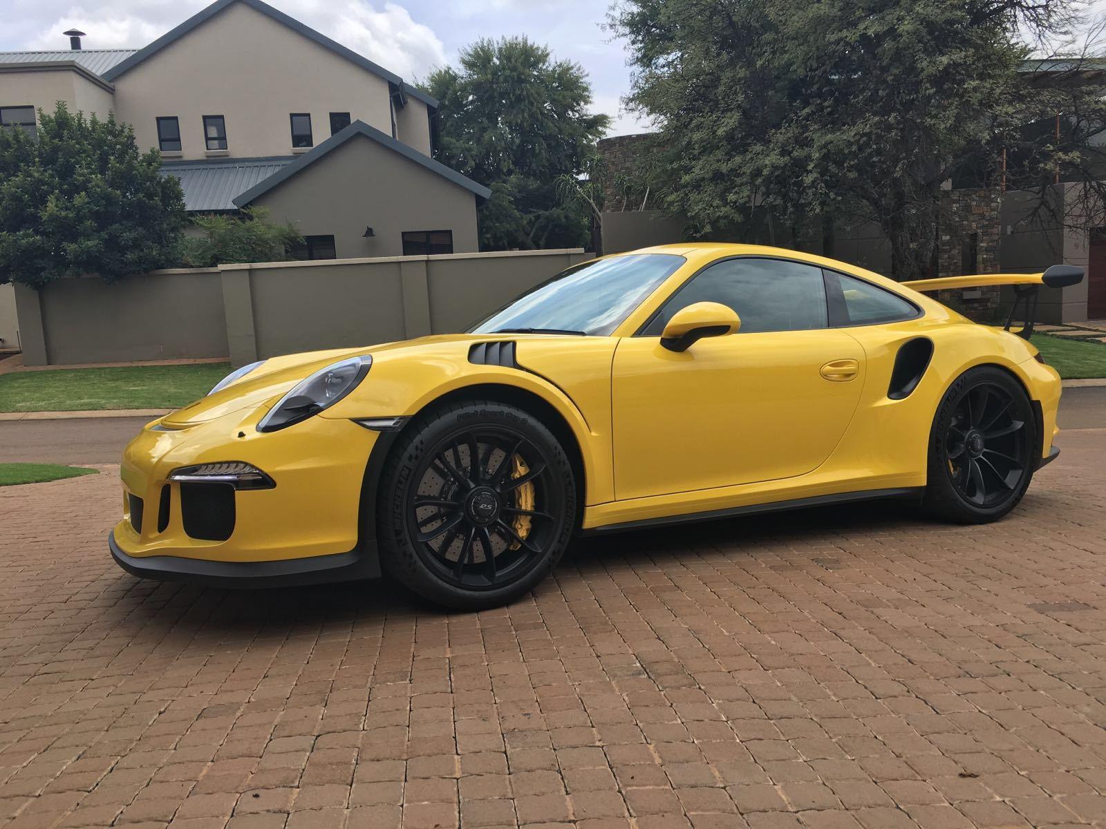 Photos Of Racing Yellow 991 Gt3rs Rennlist Porsche