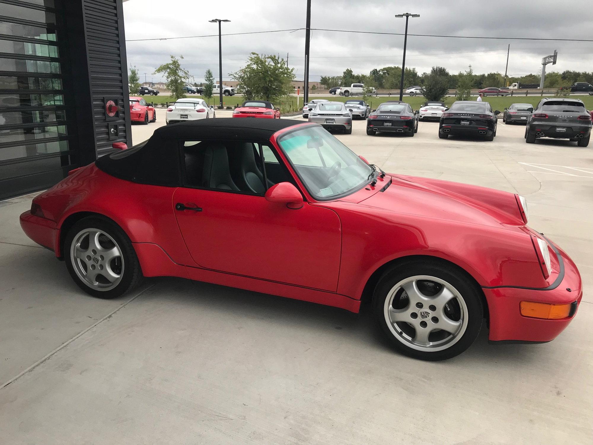 Dealer Inventory 1992 911 America Roadster Rennlist Porsche