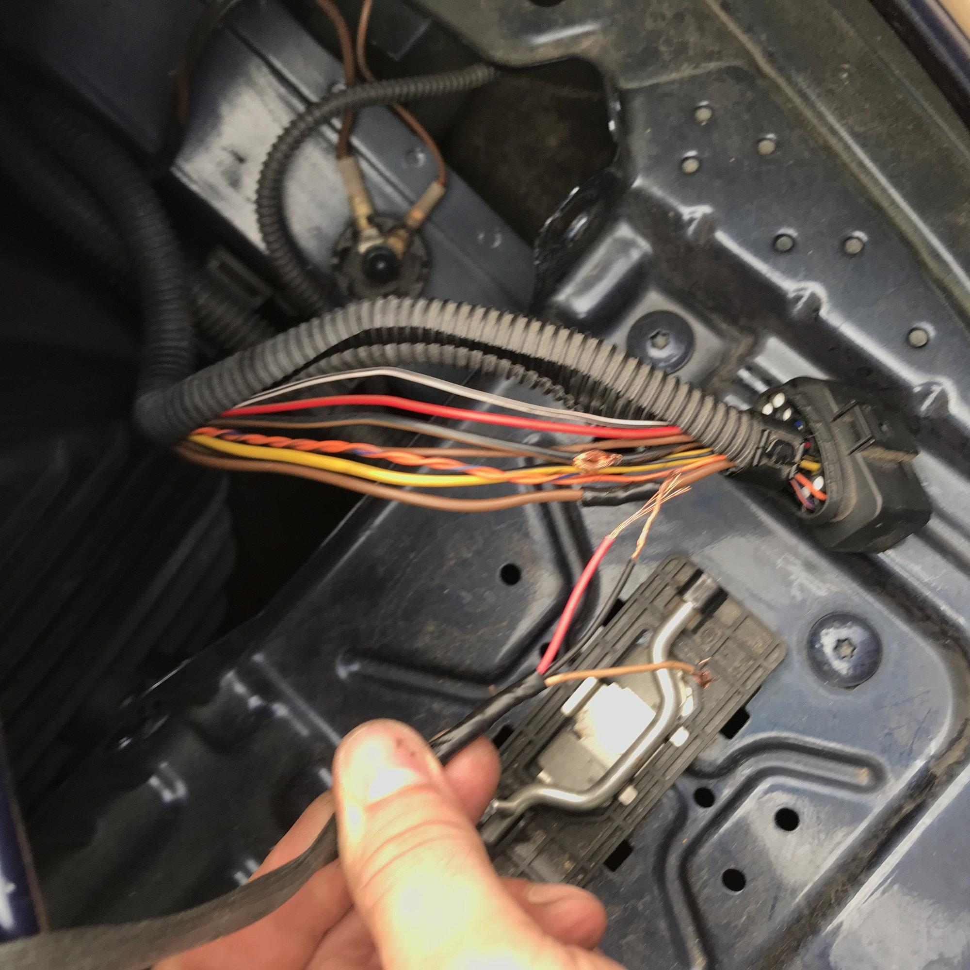 Headlight Wiring Help - Rennlist