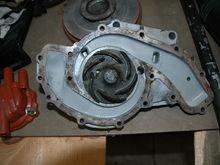 Metal impeller pump