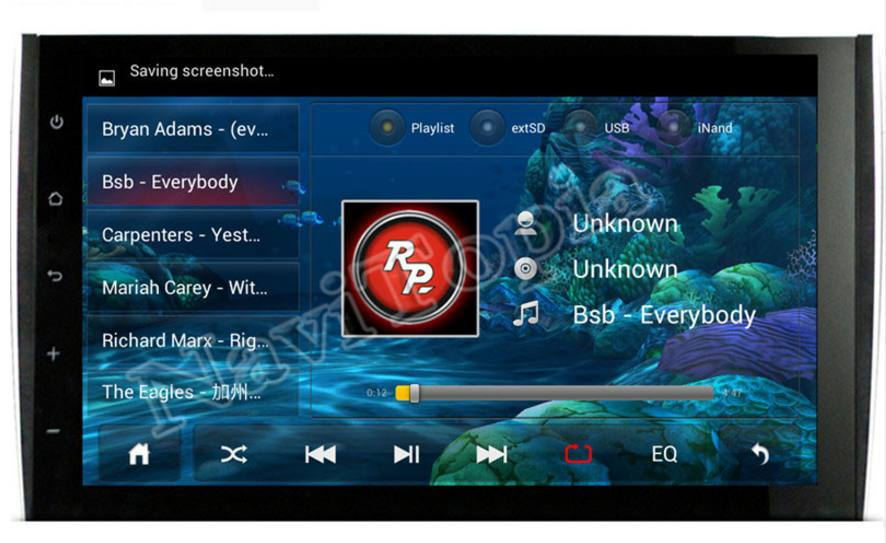 Android Head Unit Factory Reset Password