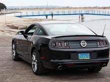 Exterior Image  2013 Mustang GT 5.0 at De Anza Cove boat ramp.