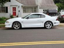 Mustangs Around New Britain, CT