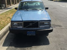 My '83 Volvo