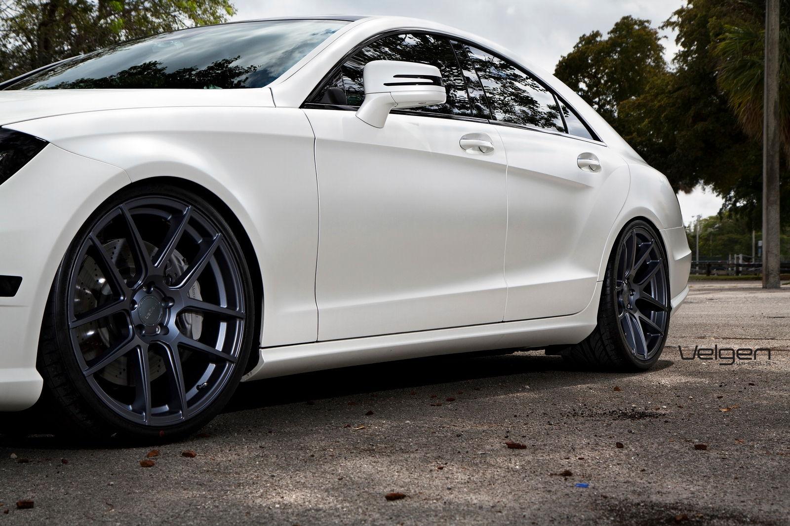Mercedes benz cls550 on velgen wheels for Mercedes benz cls550 for sale