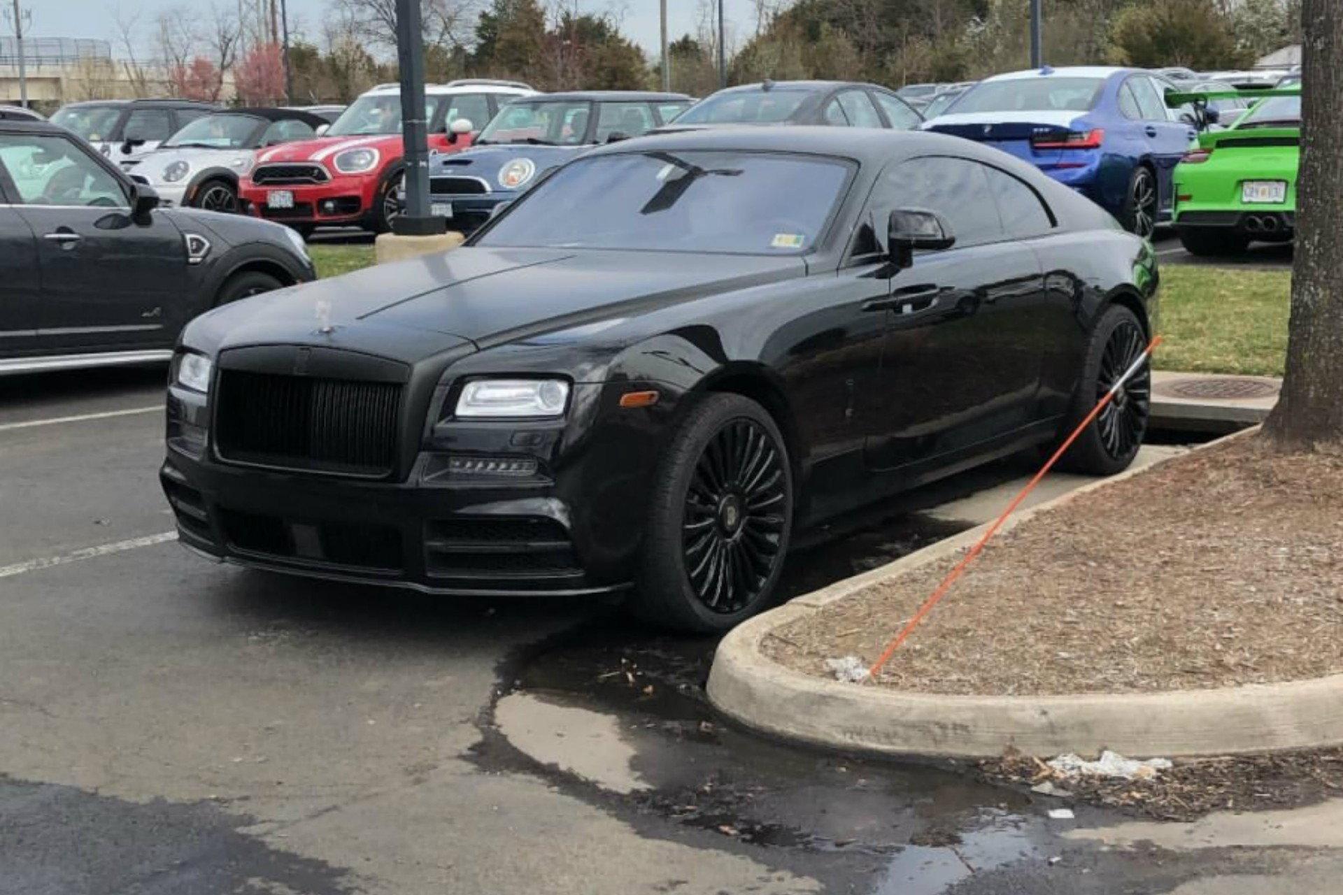 Blacked Out Mansory Rolls Royce Wraith 6speedonline Porsche Forum And Luxury Car Resource