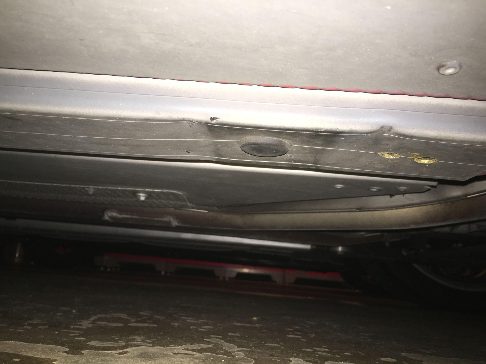 My V8V chasis tubs were damaged at Firestone 6Speed line