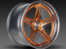 Forgeline SC3C-SL Stepped Lip Transparent Copper with Smoke Outer Lip