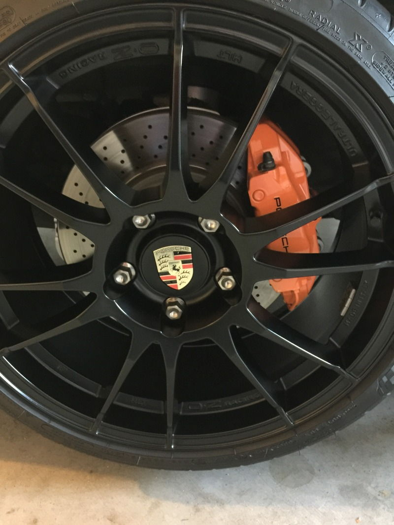 Painted Brake Calipers For Cayenne S SpeedOnline - Bmw brake caliper decals