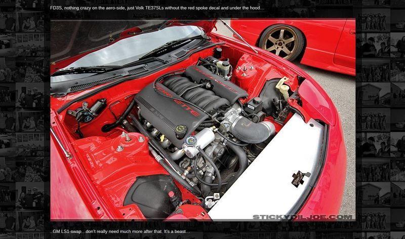 94 FD RX7 LS2 Swap - 6SpeedOnline - Porsche Forum and Luxury Car