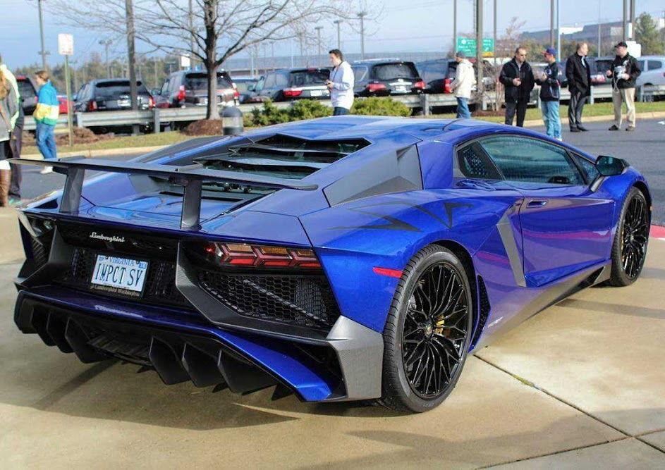 Blu Sideris Lamborghini Aventador Lp 750 4 Sv 6speedonline Porsche Forum And Luxury Car