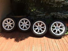 White Wheels for 2013 Audi Q5