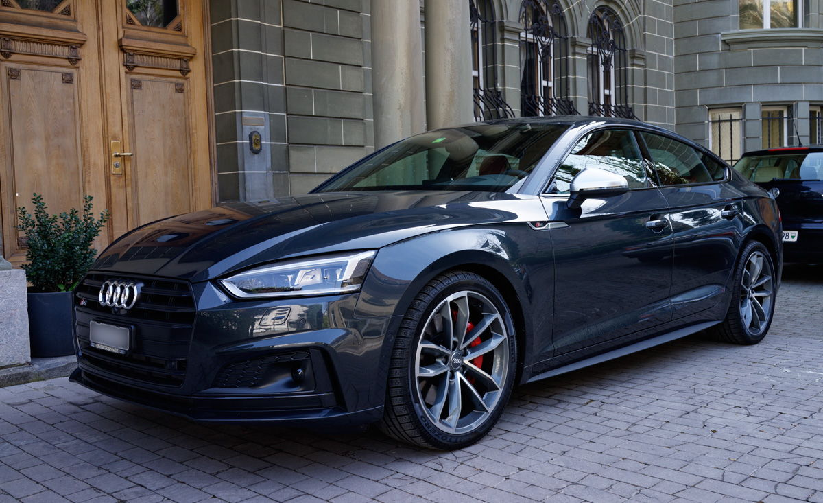 2018 audi s5 sportback black optics