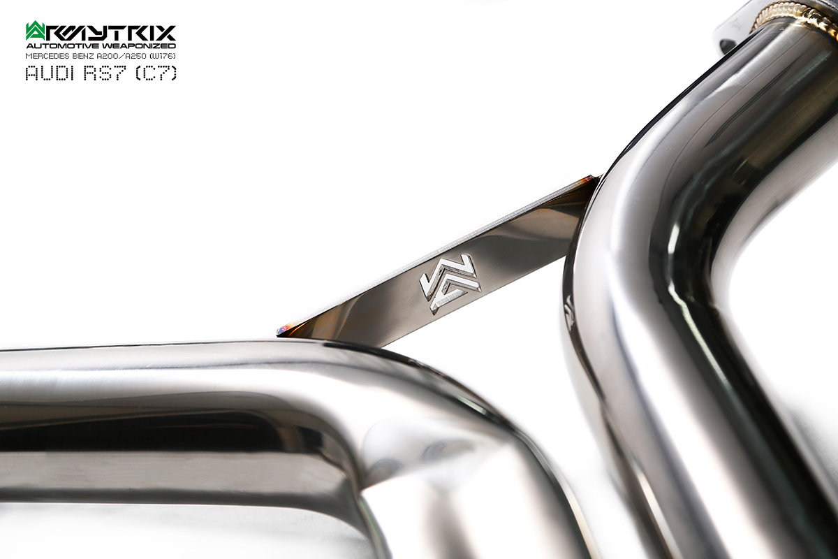Audi Rs7 40 Tfsi Quattro Armytrix Cat Back Valvetronic Exhaust
