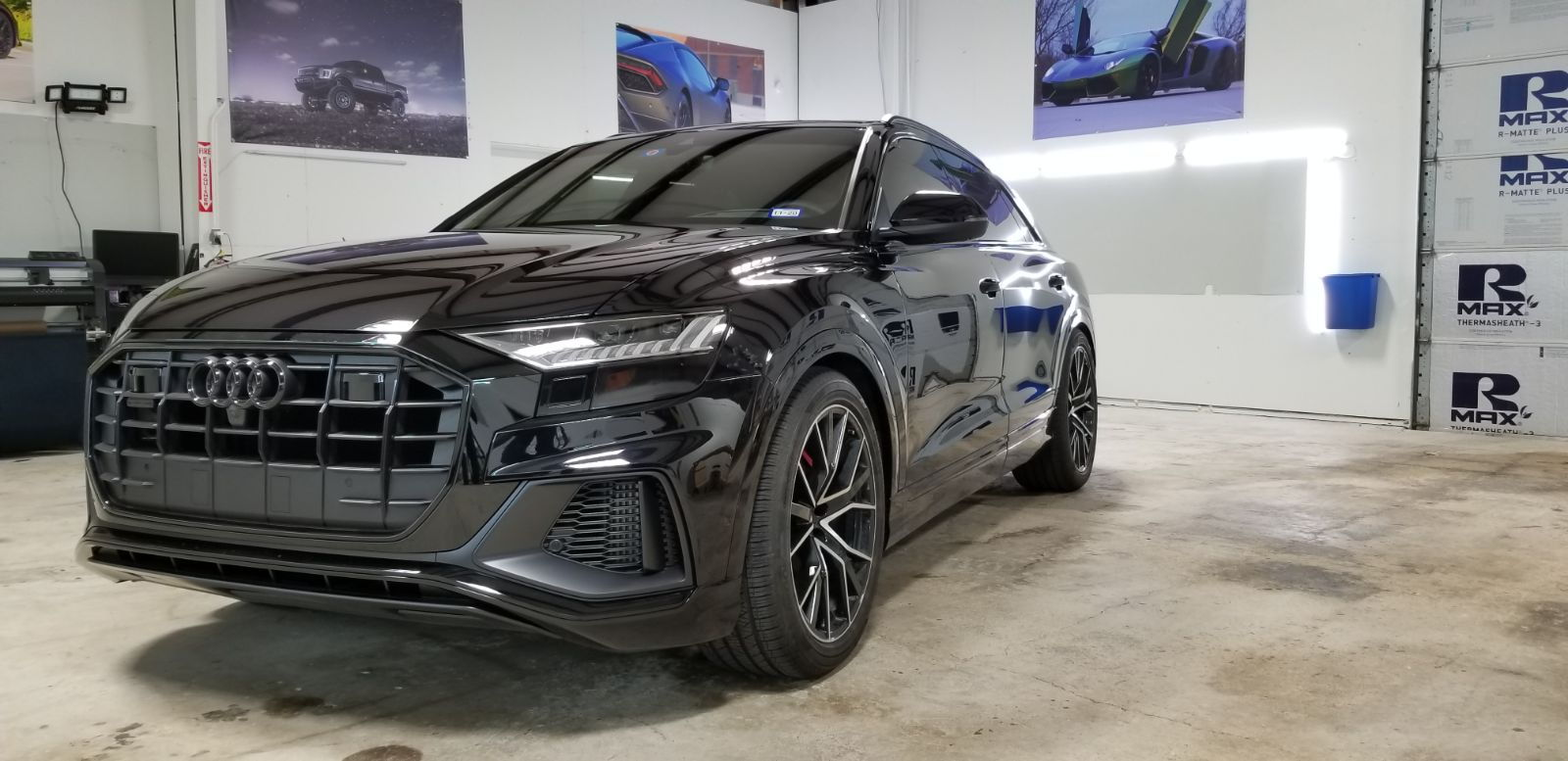 Blacked Out Tail Lights and Front Reflector Section - AudiWorld Forums